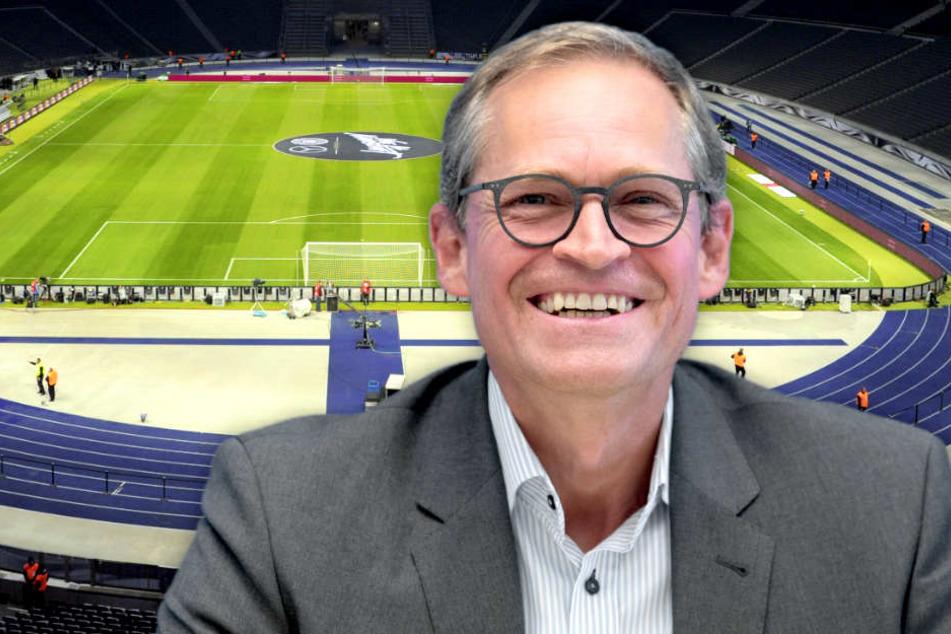 Berlins Bürgermeister Michael Müller (SPD) hält den Wunsch nach einem neuen Stadion für nachvollziehbar.