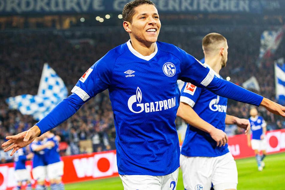 Der einzige Torjubel in dieser Saison: Amine Harit hat sein Potenzial beim FC Schalke 04 in der Hinrunde nicht abgerufen.