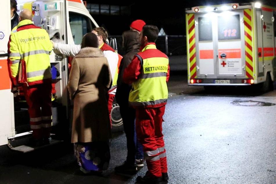 Die 30-Jährige musste nach ihrem Sturz ins Krankenhaus gebracht werden (Symbolbild).