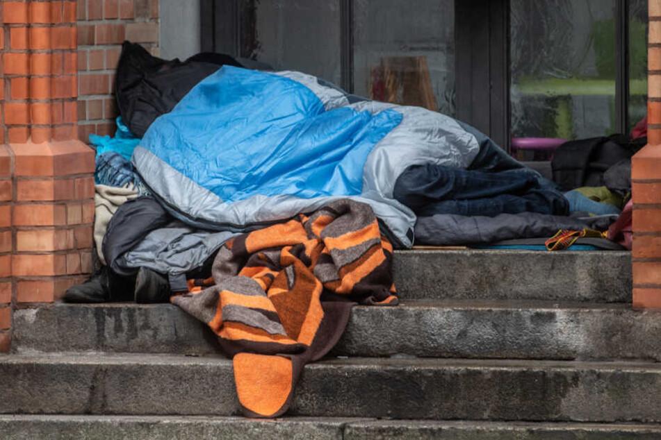 Wie viele Menschen genau in Deutschland auf der Straße leben, ist nicht bekannt (Symbolfoto).