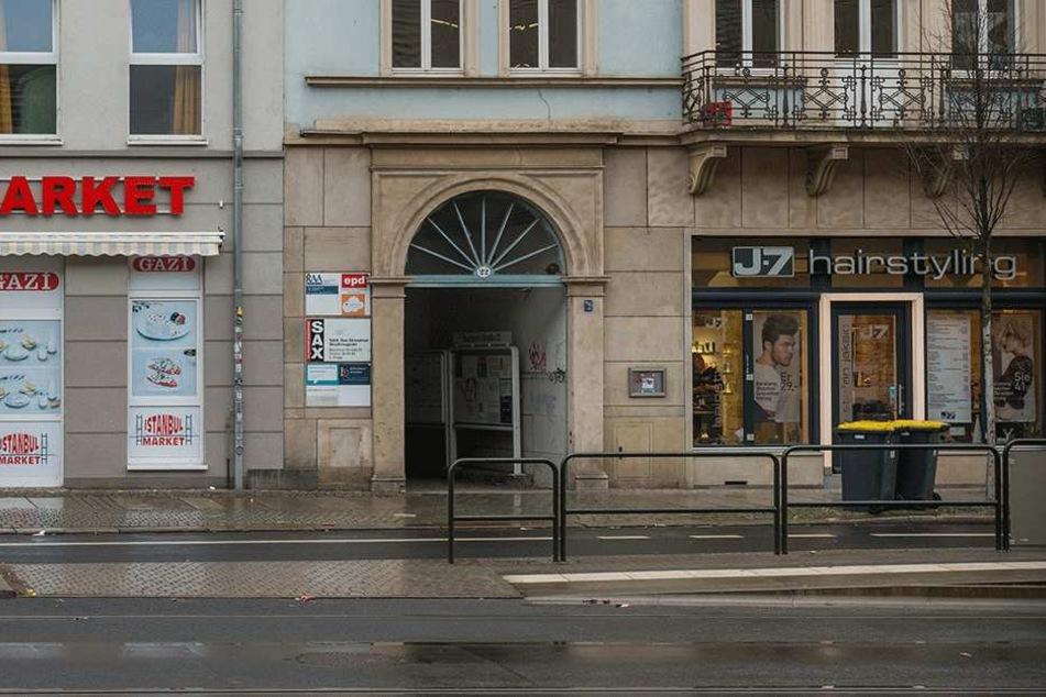 Die Projektschmiede auf der Bautzner Straße macht die Schotten dicht.