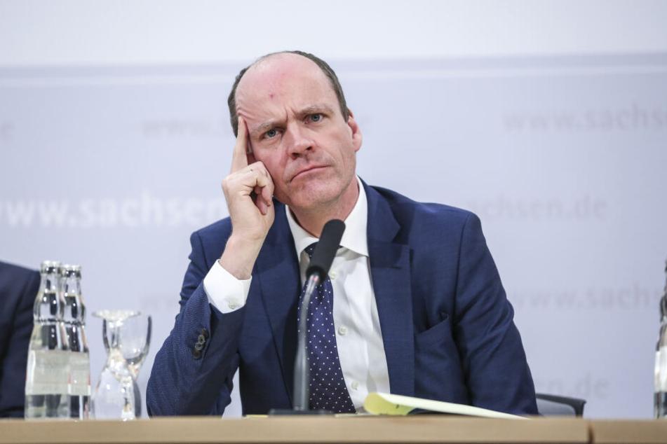 Der bisherige Finanzminister Sachsens, Dr. Matthias Haß.