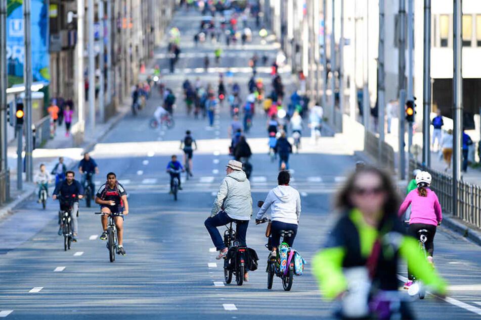 Kann die Stadt Leipzig einen der Preise des Fahrradklima-Tests abstauben?
