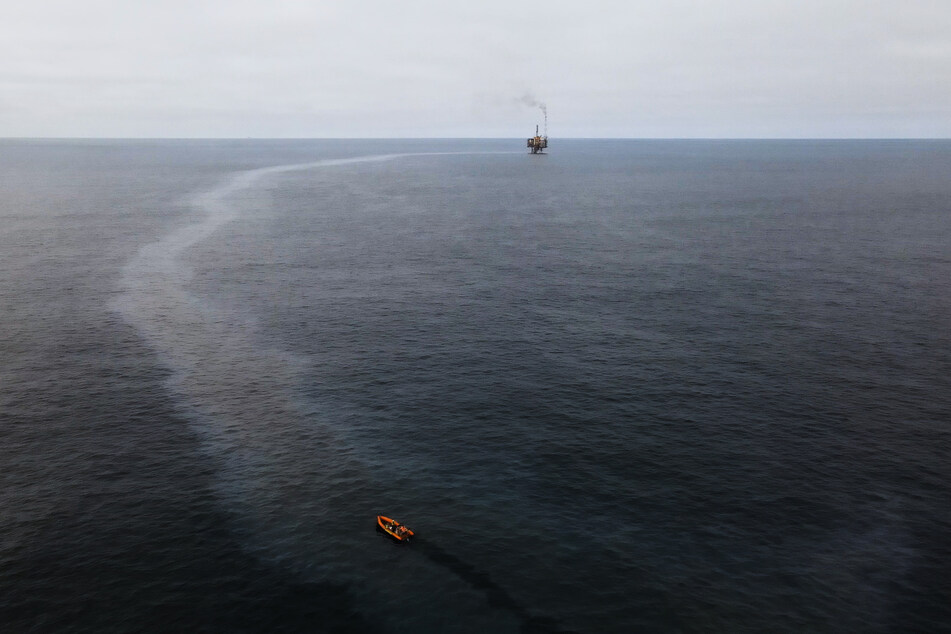 In der Nordsee: Greenpeace entdeckt massive Ölverschmutzung!
