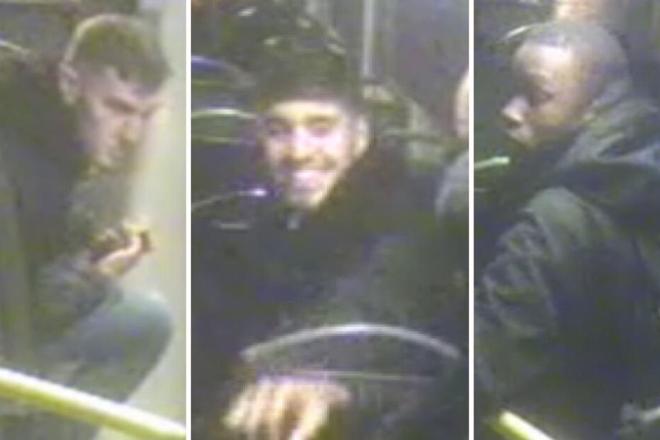 Trio will 19-jährigen in BVG-Bus überfallen: Wer kennt diese Jugendlichen?