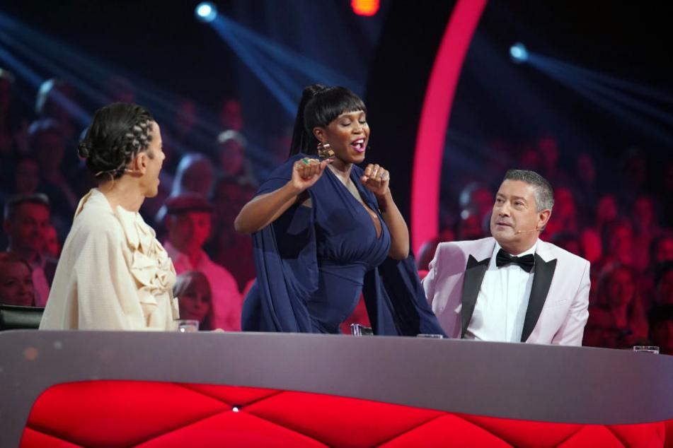 Immer zu einem Tänzchen aufgelegt: Let's Dance Jury-Mitglied Motsi Mabuse.