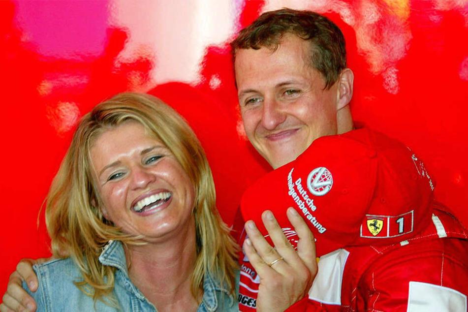Michael und Corinna sind seit 1995 verheiratet.