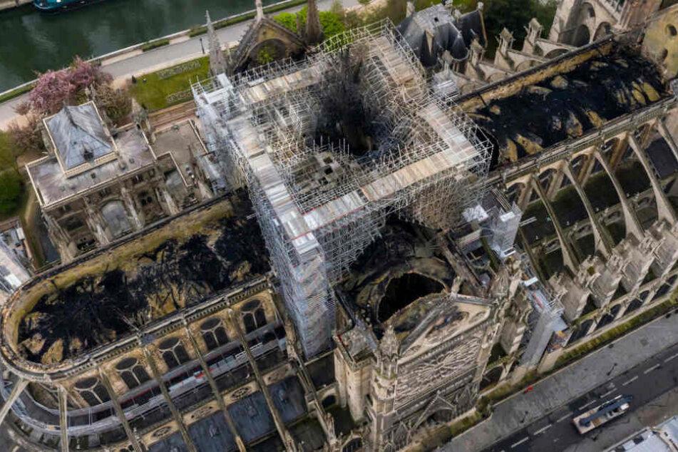 Die Schäden sind heftig: Wird Notre Dame originalgetreu oder zeitgemäß wieder aufgebaut?
