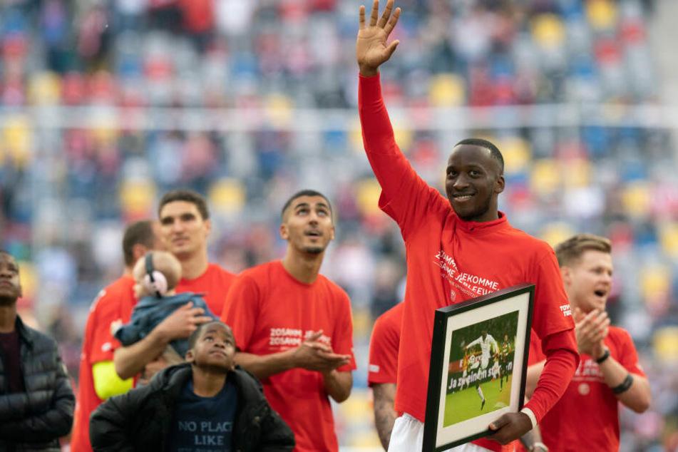 Lukebakio kam in der abgelaufenen Spielzeit 31 Mal zum Einsatz und sorgte mit 14 Torbeteiligungen (zehn Tore, vier Vorlagen) für die überraschende Saison der Fortunen.