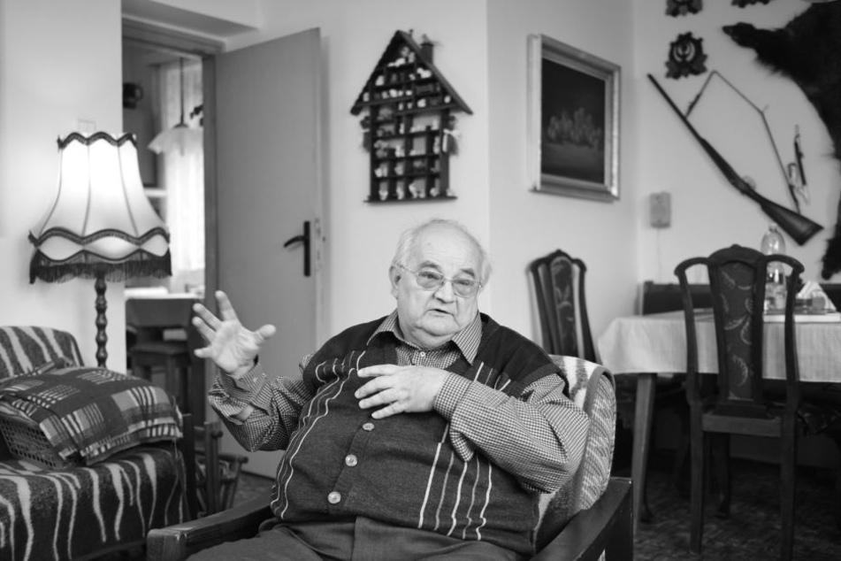 """Odyssee durch das Grauen: Vaclav Zelenka (78) hat das Massaker von Lidice überlebt und musste danach """"Deutscher"""" werden. heute ist er versöhnt mit seinem Schicksal."""