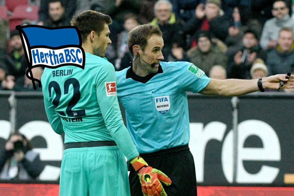 Pleiten, Pech und Pannen: Hertha BSC kassiert bittere Klatsche in Augsburg
