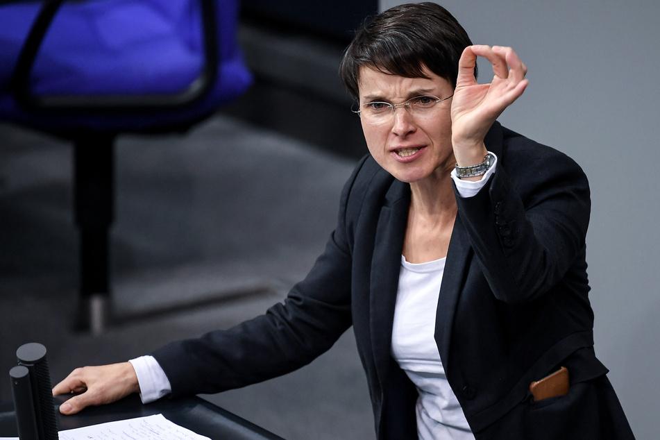 Frauke Petry kassiert Ordnungsruf: Ex-AfD-Politikerin verweigert Maske im Bundestag