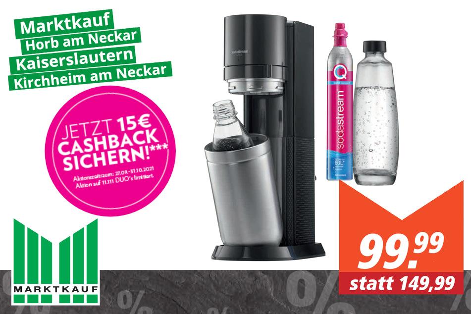 SodaStream Wassersprudler DUO für 99,99 Euro