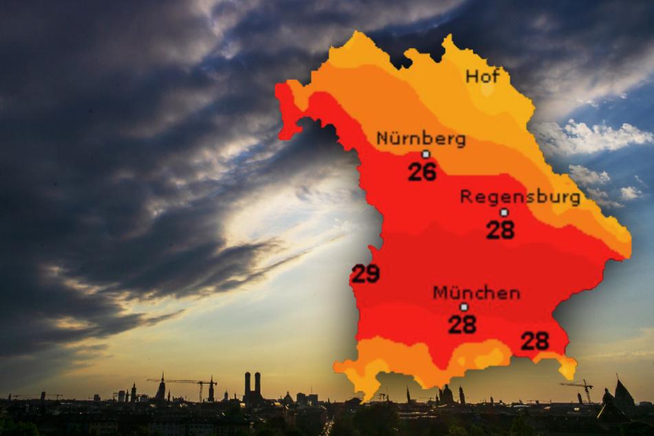 Zweigeteilt! So wird das Bayern-Wetter in den nächsten Tagen