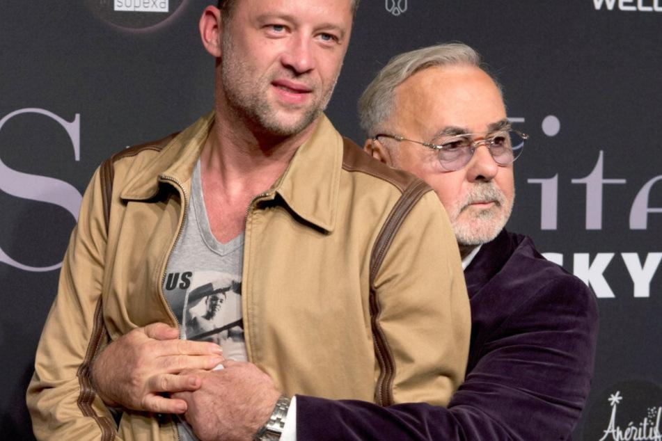 Udo Walz (r) und sein Ehemann Carsten Thamm kommen zur StyleNite des Designers Michael Michalsky während der Fashion Week Berlin. (Archivbild)