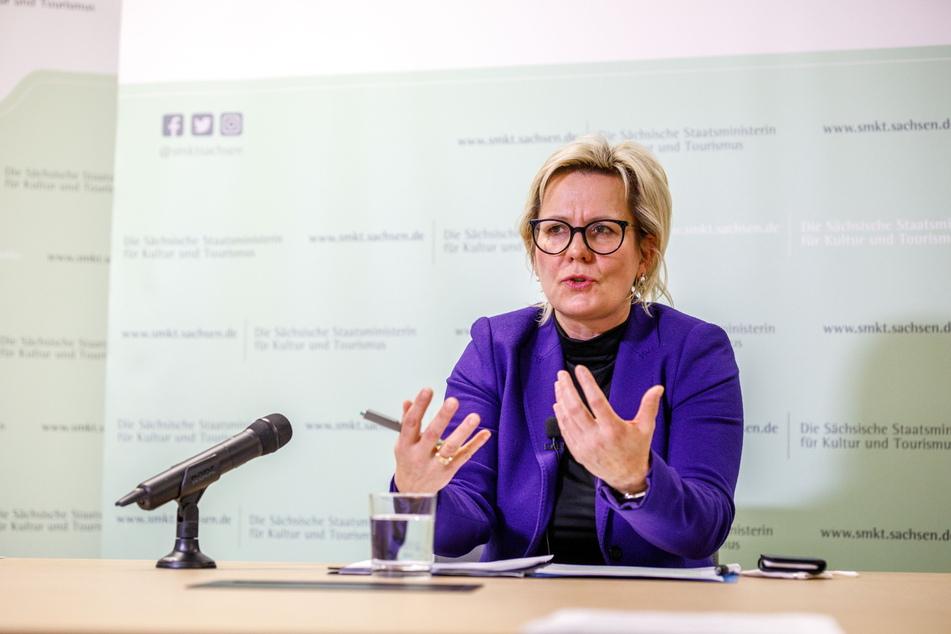 Sachsens Tourismusministerin Barbara Klepsch (56, CDU).