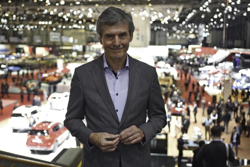 Ferdinand Dudenhöffer (69), Experte für die Autobranche, aufgenommen beim Genfer Autosalon. (Archivbild)