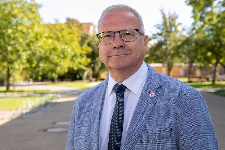 Hoyerswerda-OB Torsten Ruban-Zeh (58, SPD).