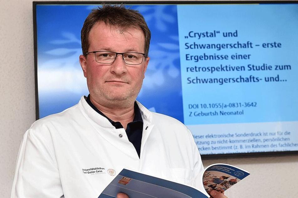 Forscher Uwe Schmidt (50) untersuchte mit seinem Team die Auswirkungen von Crystal auf die Schwangerschaft.