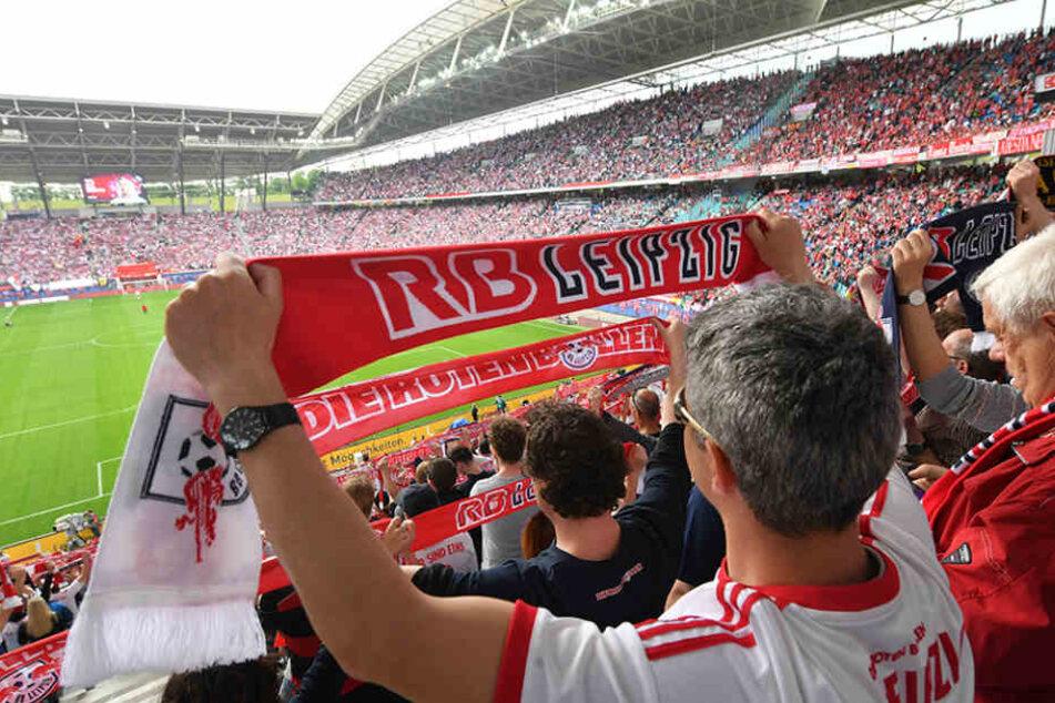 RB Leipzig wird bei Fußballfans in Deutschland immer beliebter.