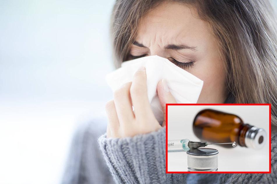 Die Grippewelle hat Sachsen noch fest im Griff. Auch jetzt lohnt sich noch der Gang zum Arzt für die Vorsorge. (Symbolbild)