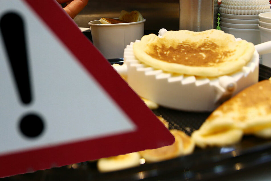 In einer tiefgefrorenen Pfannkuchen-Masse konnte jetzt Fipronil nachgewiesen werden. (Bildmontage)