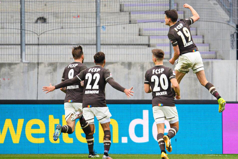 Die Kiezkicker haben aktuell viel zu jubeln: Sie sind zurzeit das formstärkste Team der 2. Bundesliga.
