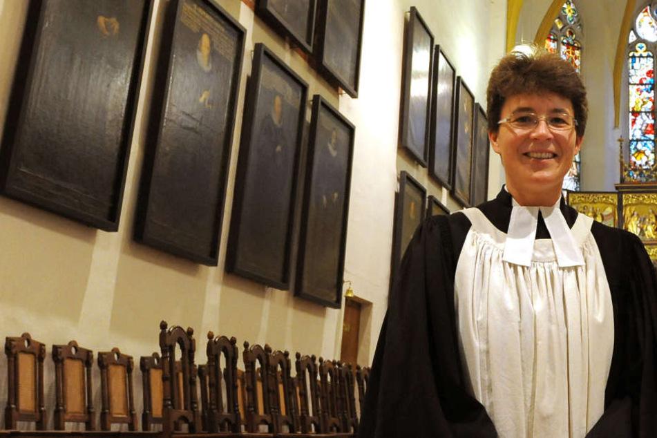 Britta Taddiken, Pfarrerin an der Thomaskirche in Leipzig, berichtet von zunehmenden Anfeindungen und Drohungen. (Archivbild)