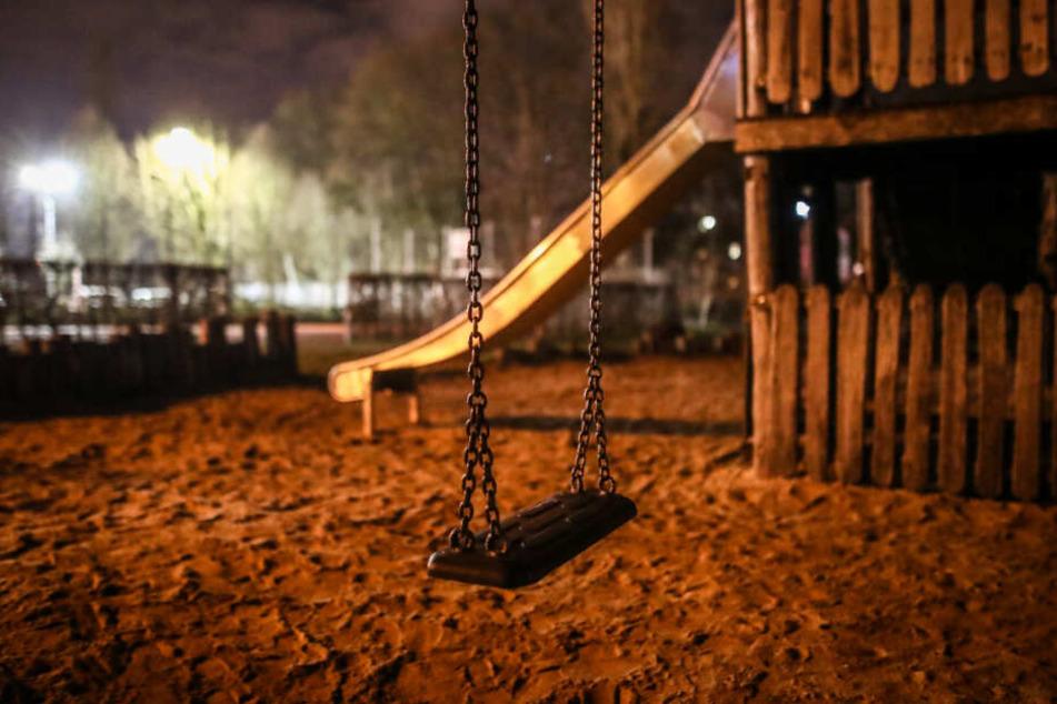 Der Spielplatz nahe der Rems, wo der Junge mit seiner Kindergartengruppe gespielt hatte.