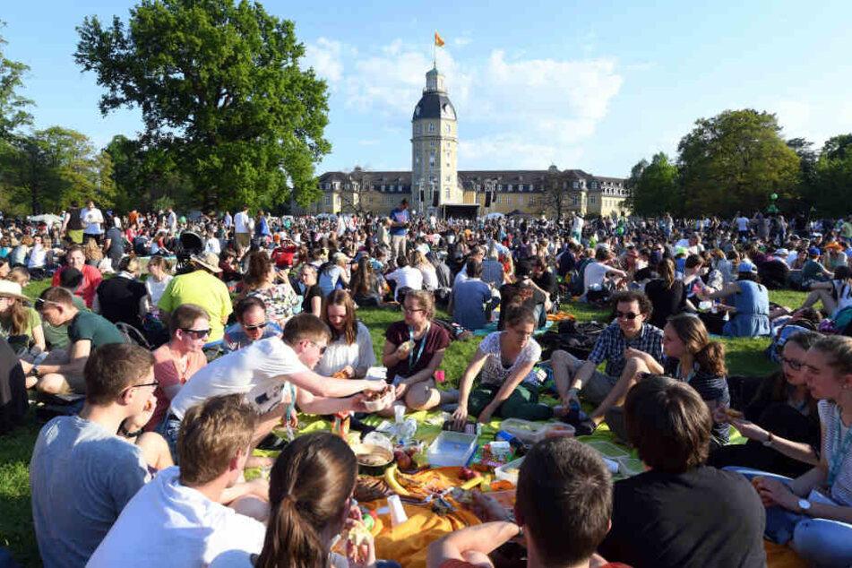 """2016 hatte das letzte """"Christival"""" in Karlsruhe stattgefunden, über 12.000 junge Menschen waren dabei gewesen."""