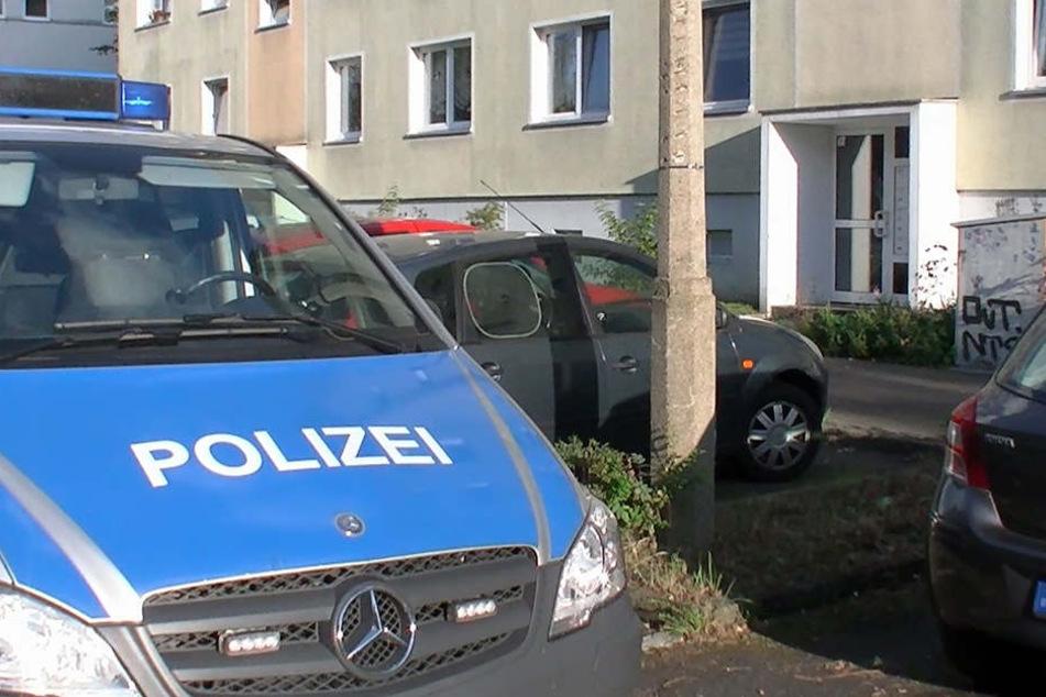 In diesem Haus in der Löbauer Straße konnten die Täter gestellt werden.