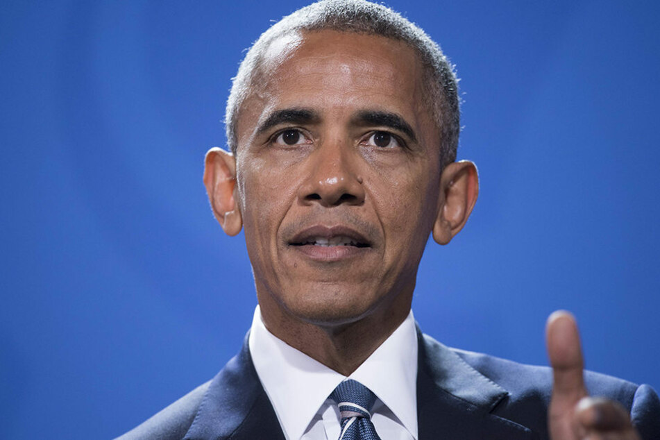 Es war Obamas letzter Auftritt als US-Präsident in Deutschland.