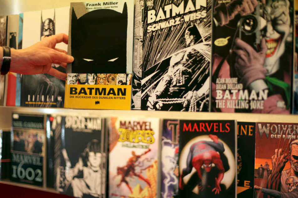 Diverse deutsche Ausgaben von Marvel-Comics.
