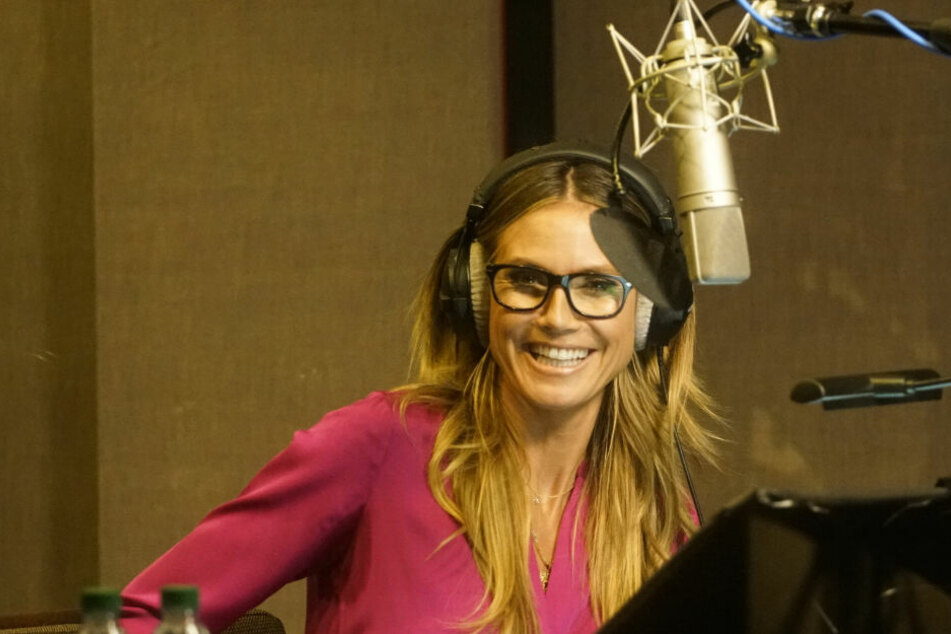 Heidi Klum (46) hat die Arbeit im Tonstudio sehr genossen.