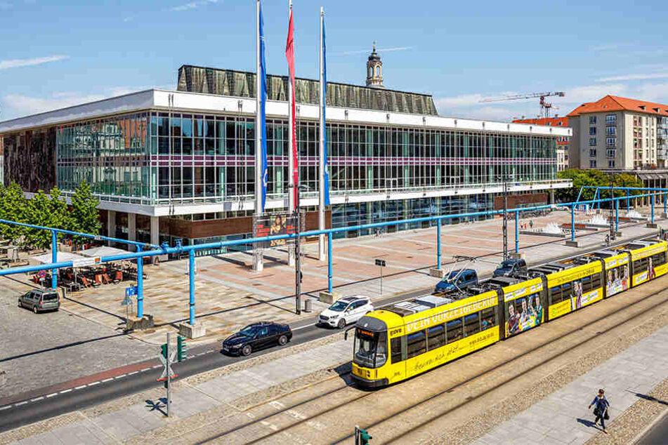 Für über 100 Millionen Euro wurde der Kulturpalast umgebaut und saniert.