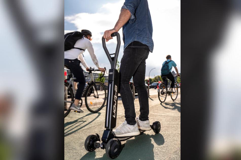 """Ende 2020 soll der """"e-tron Scooter"""" auf den Markt kommen."""
