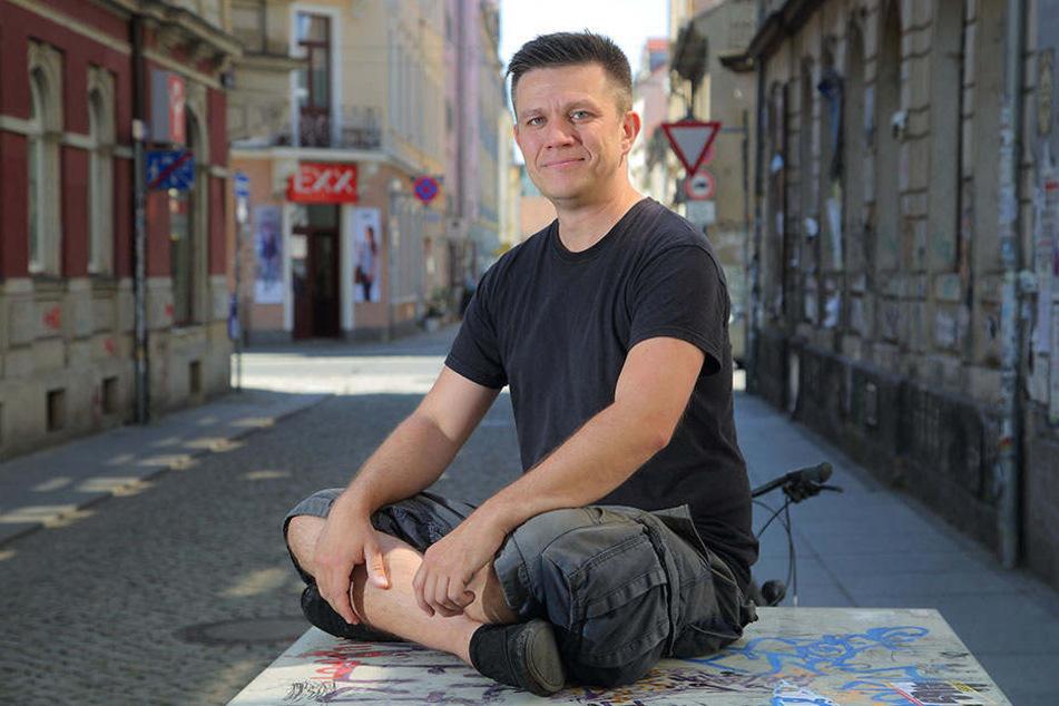 Der Autor Marcus Wächtler hat bereits sein drittes Buch geschrieben.