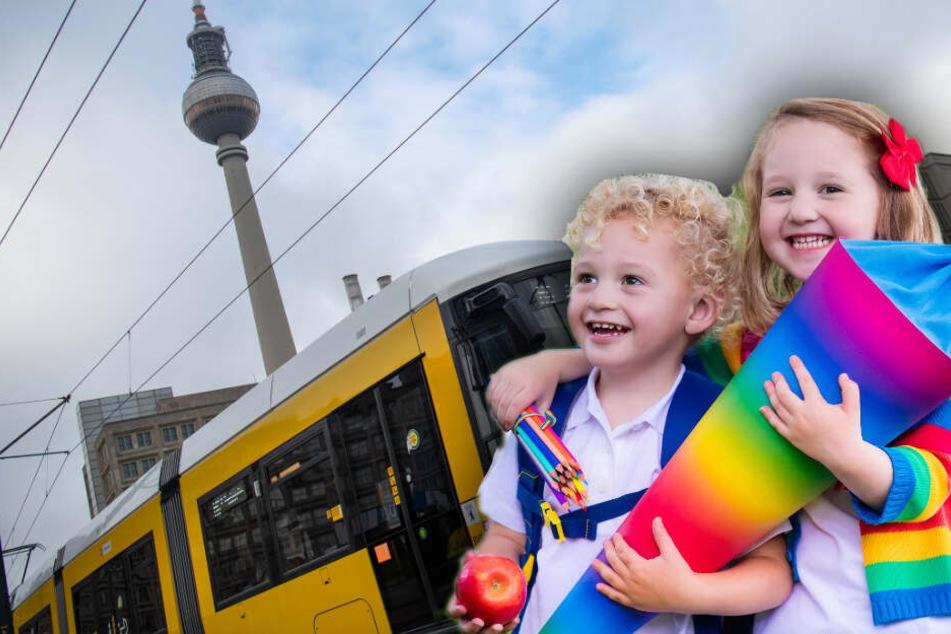 Kostenloses BVG-Ticket: Berliner Schüler dürfen gratis mit den Öffis fahren