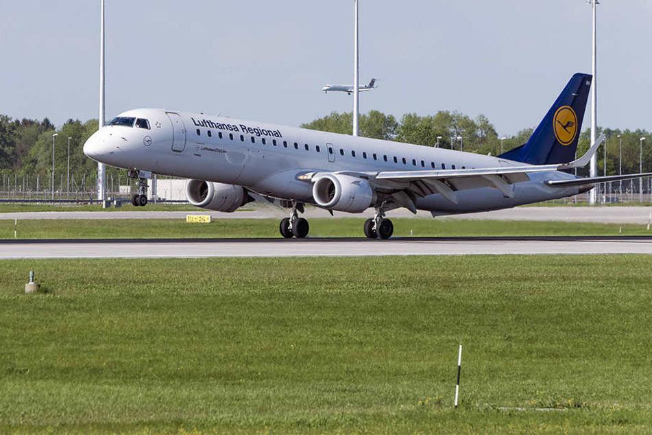 Bis zum Abheben kam es nicht mehr. Der Pilot hielt den Jet rechtzeitig an. (Symbolbild)