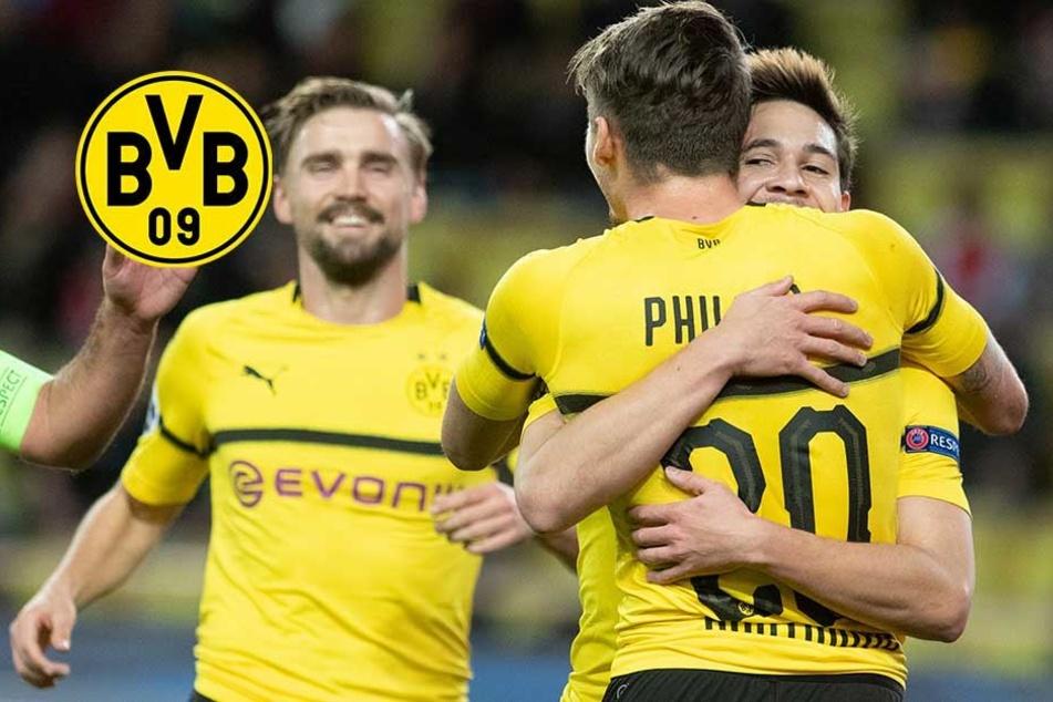 2:0 gegen Monaco: BVB holt mit B-Elf den Gruppensieg