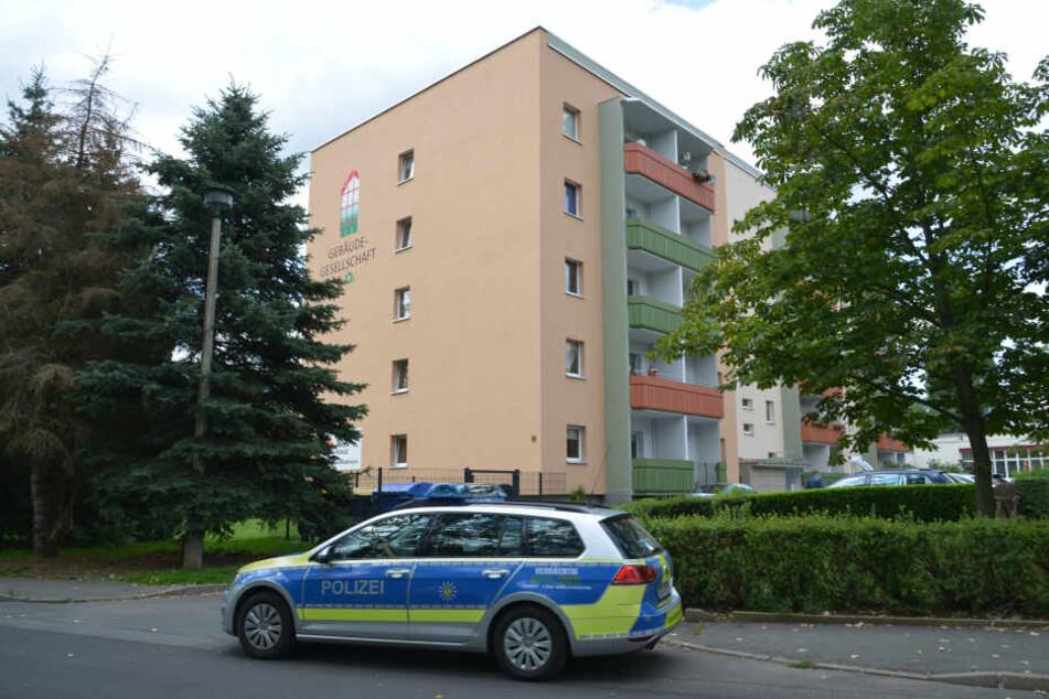 In Limbach-Oberfrohna wurde ein Mann (58) leblos aufgefunden.