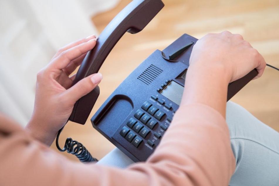 So hat sicherlich noch niemand reagiert bei einem Anruf von Betrügern. (Symbolbild)