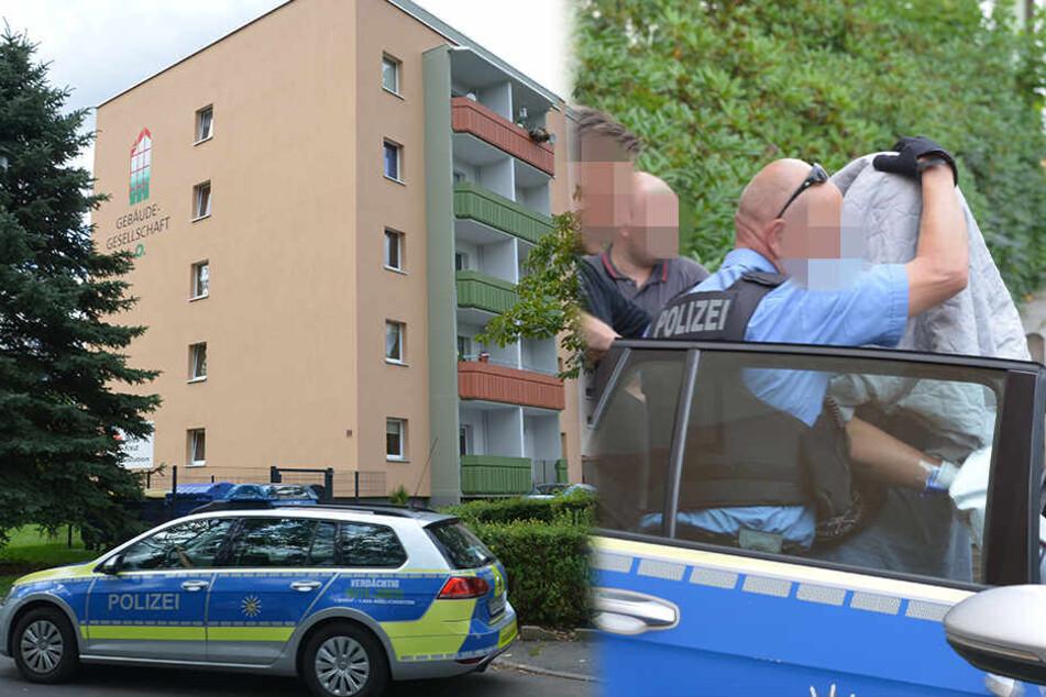 Leiche in Limbach-Oberfrohna entdeckt: Verdächtiger (18) festgenommen