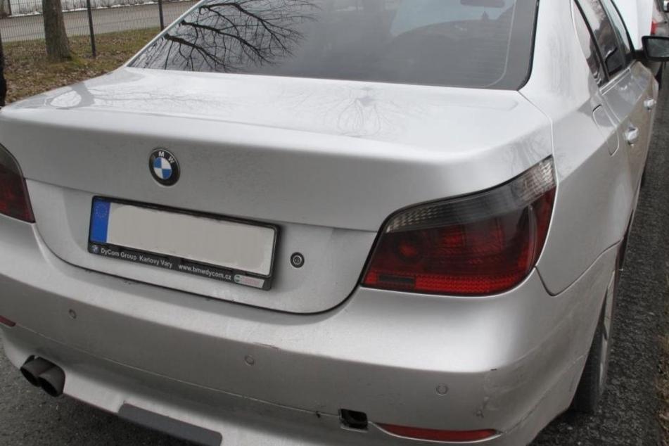 2007 in Italien geklaut, jetzt wurde dieser BMW im Vogtland gefunden