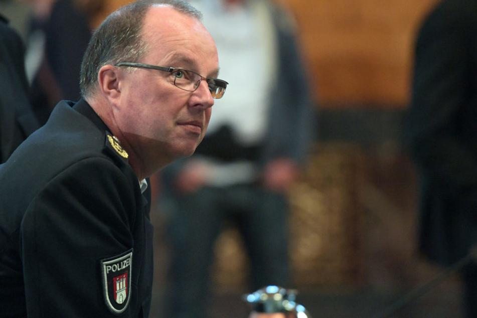 Hartmut Dudde ist nun Chef der Hamburger Schutzpolizei.