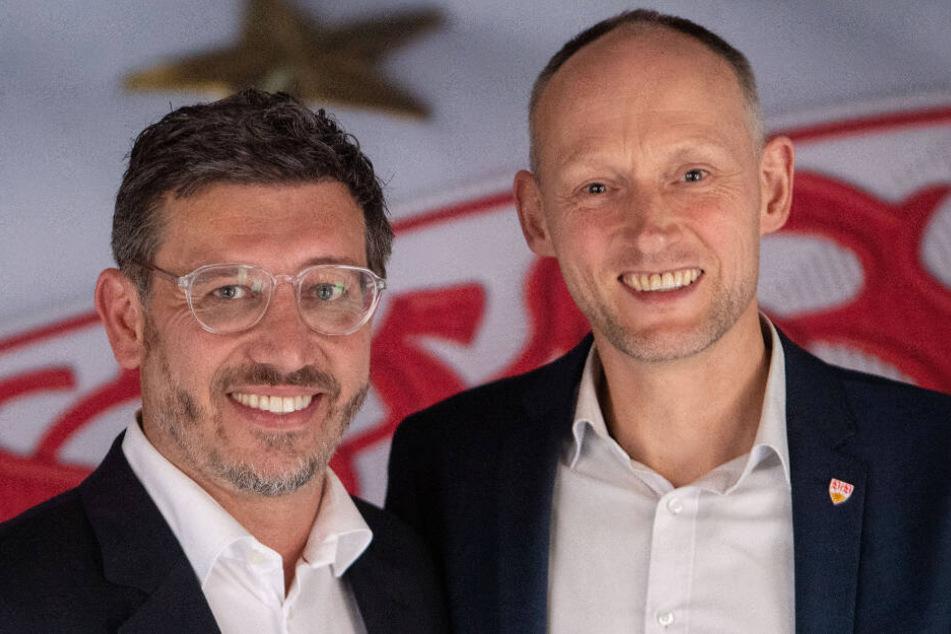 Die Bewerber ums Präsidentenamt (v.l.): Claus Vogt und Christian Riethmüller.