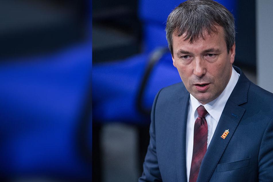 Johann Saathoff lieferte im Bundestag eine Kostprobe seines Plattdeutschs.