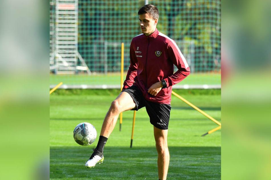 Alexander Jeremejeff konnte in dieser Woche wieder trainieren und steht für einen Einsatz bereit.
