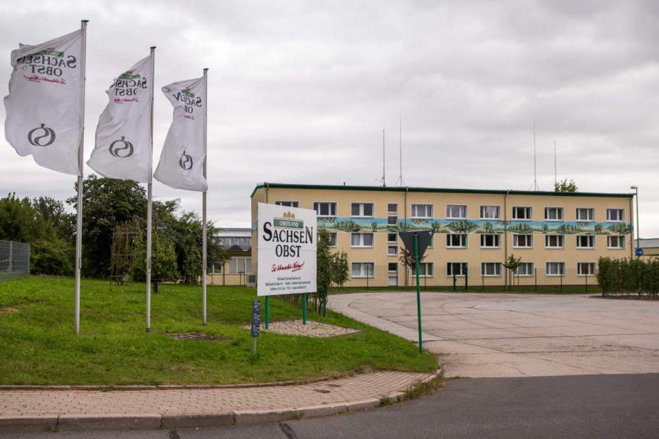 Das Firmengebäude in Dürrweitzschen.