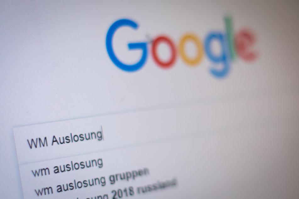 Der Suchbegriff WM Auslosung schaffte es vor die Bundestagswahl